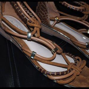 Opened toed sandal heels USED one